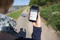 Über die kostenlose Handy-App sind alle wichtigen Informationen abrufbar.